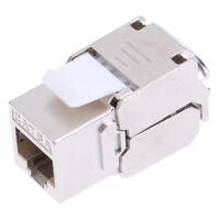 Keystone Cat6A Shielded FTP Metal Module Network Keystone Jack Connector Adapter