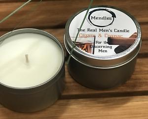 Mendles - The Real Men's Candle - Cigars & Cognac