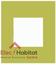 Plaque simple vert Arnould Espace Evolution 64451