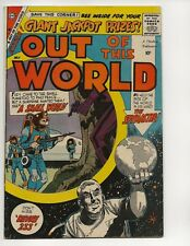 OUT OF THIS WORLD  #14 VF- VERY FINE- EARLY SILVER AGE CHARLTON COMICS 1959