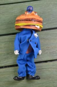 Vintage 1976 Remco McDonaldland Toggle Head Figure Officer Big Mac - RARE