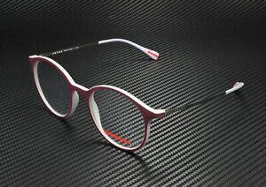 PRADA LINEA ROSSA PS 02IV VYZ1O1 Brd Grey Rubber Demo Lens 51mm Men's Eyeglasses