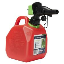 Scepter 1 Gallon SmartControl Gas Can Automotive Tools & Equipment Red
