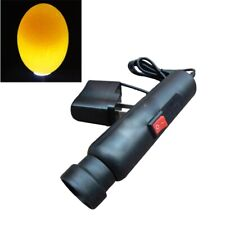 Chicken Egg Candler Super Flash Torch Poultry Mains Candling Lamp New