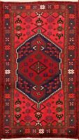 Nomad Geometric Balouch Hand-knotted Area Rug Home Decor Oriental 3'x4' Carpet