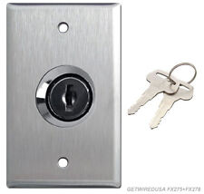 WALL KEY ON OFF LOCK SWITCH HOME 110/125V ELECTRICAL TOGGLE LOCKOUT OUTLET COVER
