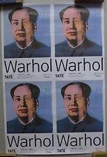 3 Affiches Andy Warhol - Modern Tate - 2002 - 51 x 76 -