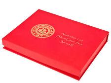Serie Lunar II Caja Monedas/Caja de monedas para 12x 1 OZ PLATA CABRA MONO