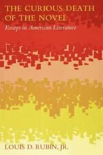 The Curious Death of the Novel: Essays in American Literature-ExLibrary