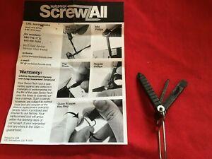 multi-tool SWISS-TECH  screws  All-WW ship --Key ring --Lifetime replacement