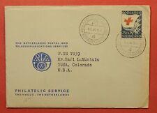 DR WHO 1953 NETHERLANDS POSTAL & TELECOMMUNICATIONS SERVICES GRAVENHAGE z211323