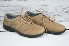 PROPET Light Brown Nubuck Leather Lace Up Oxfords Walking Shoes Women's Sz. 7M
