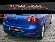 Heckansatz Heckschürze für VW GOLF V 5 R32 GTI TDI GT ED30 Diffusor Stoßstange