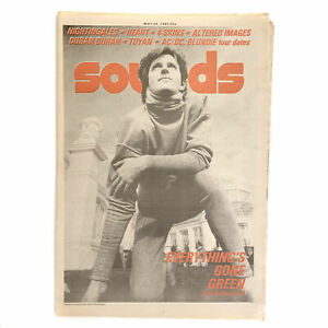 Sounds 29 May 1982 - Green,Scritti Politti,Altered Images,Nightingales,Heart