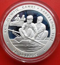 NIUE-Savage Islands: 50 Dollars 1989 Silber, KM# 27, #F0599, PP-Proof