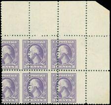 530, Mint NH 3¢ Large Misperforation Block of Six Stamps - Stuart Katz