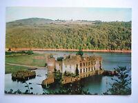 """CPM """"Le château de Grandval au barrage de Rasisse"""""""