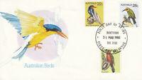 Briefmarken - Australien - Ersttagsstempel - Australian Birds - 31.3.1980