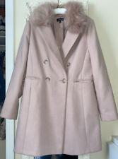 Pink Topshop Trench Coat