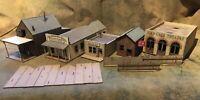 28mm Tombstone buildings set.prepainted kits..
