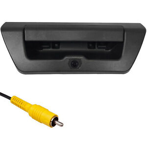 For Ford F150 (2015+) Black Tailgate Handle Backup Camera (No Key Hole)