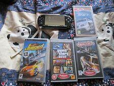 SONY 1003  PSP CONSOLE BUNDLE 4 GAMES.