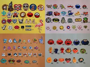 DIY Sew Iron On Patches Embroidery Cloth Applique Stickers Fabric Patches Badges