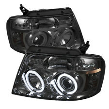 Ford 04-08 F150 CCFL Fumée Double Halo Led Phares Projecteur Lampe Styleside