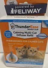 New listing Thunderease Calming Multi-Cat Diffuser Refill1/48 Ml Refill