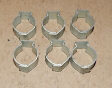 "1/2"" Hose Pinch Clamps Single Ear 6ea Tubing Dixon Keystone Zinc Steel USA 160W"