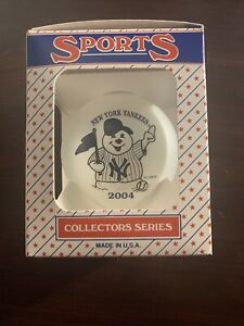New York Yankees Nyy Mlb 2004 Snowman Ornament Christmas