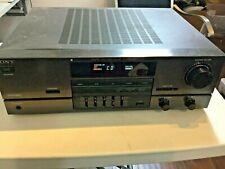SONY DIGITAL DELAYED DOLBY SURROUND RECEIVER TA-AV431