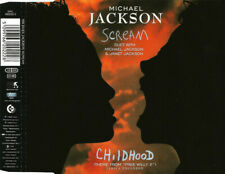 Michael Jackson - SCREAM (incl. DEF Radio Mix) - Maxi CD Single © 1995