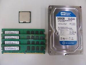 Quadcore CPU / Ram / HardDrive Kit