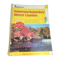 Hagstrom Atlas Somerset Hunterdon and Mercer Counties New Jersey Published 2004