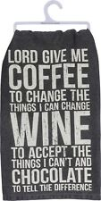 Lord Give Me Coffee To Change The Things I Can~Towel~Hand/Kitchen/Di sh~Cotton