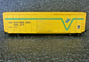 Ho Train Vintage Athearn 50' FMC SD Boxcar - South Branch Valley