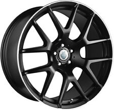 "22"" CADES COMANA ALLOY WHEELS FITS MERCEDES ML GL CLASS R CLASS MATT BLACK POL"