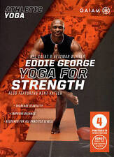Athletic Yoga: Yoga for Strength with Eddie George (DVD, 2015) - NEW!!