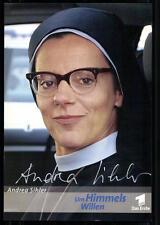 Andrea Sihler Um Himmels willen Autogrammkarte Original Signiert ## BC 23877