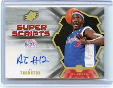 2007-08 UPPER DECK SPX #SS-AT AL THORNTON AUTOGRAPH LOS ANGELES CLIPPERS, 031316