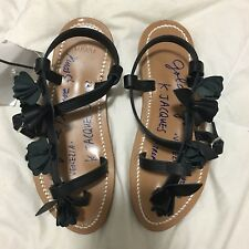 $550 K. Jacques St. Tropez New Golden Goose Rare Limited Edition Sandal Flats 35
