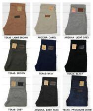 NUOVO Wrangler texas jeans Stretch Regular TAGLIO DRITTO L30/L32/L34