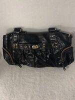 Womens Handbag / Shoulderbag / Purse - Relic   Black Leather