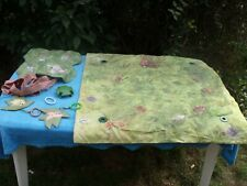tapis de parc sol avec arche winnie dans la forêt portique d'activités vintage