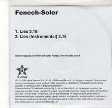 (CA570) Fenech-Soler, Lies - 2010 DJ CD