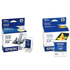 2 Pk Genuine Epson T003 Black T005 Color Ink Cartridge for Stylus Color 980 900