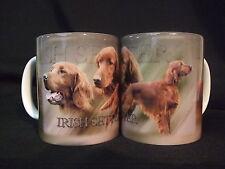 Tasse / Mug - motif chien   SETTER IRLANDAIS