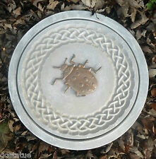 concrete ladybug celtic stepping stone plastic L@@K  5000 more molds n my store