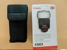 Canon 430EX Flash in original box and case. Not the II.